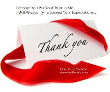 "Photo of Jane House Shebroe - Jupiter, FL, United States. ""Because You Put Your Trust In Me... 